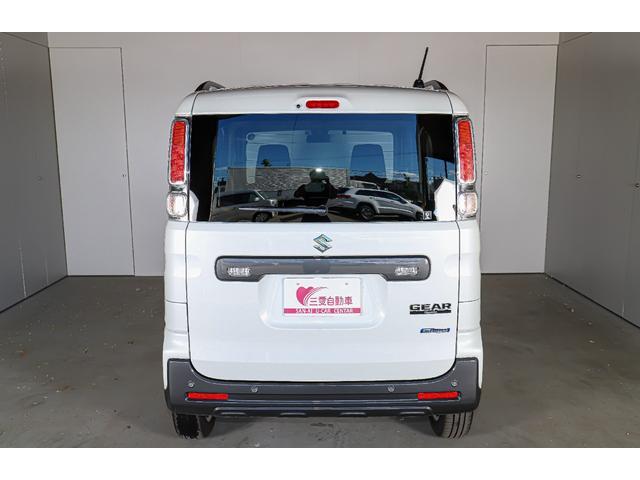 ハイブリッドXZ 4WD レンタアップ 社外メモリーナビ ワンセグTV ETC 衝突軽減サポート Iストップ シートH ミラーH 両側パワスラ レーンアシスト リアソナー LEDライト・フォグ ルーフレール 純正AW(23枚目)