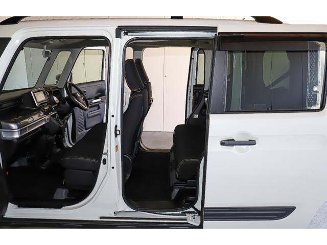 ハイブリッドXZ 4WD レンタアップ 社外メモリーナビ ワンセグTV ETC 衝突軽減サポート Iストップ シートH ミラーH 両側パワスラ レーンアシスト リアソナー LEDライト・フォグ ルーフレール 純正AW(25枚目)