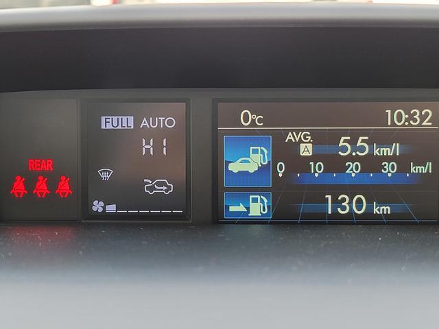 マルチファンクションディスプレイは車両の細かい情報を確認できます!