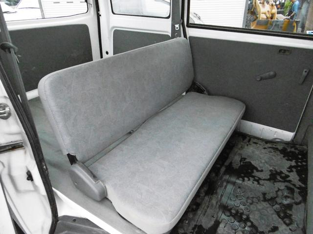 日産 クリッパーバン DX 4WD 両側スライドドア パワステ ルーフキャリア