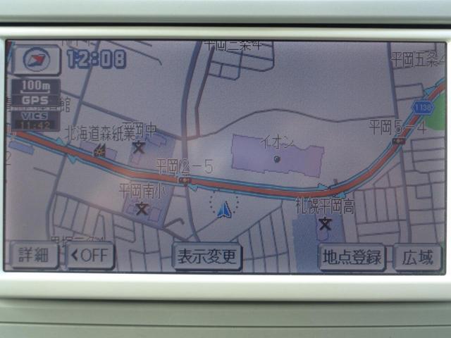 トヨタ ラクティス レピス4WD 純正エアロ SDナビTV 夏冬タイヤ付