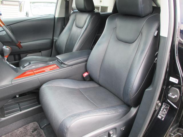 レクサス RX RX450h バージョンL 4WD 黒革シート サンルーフ