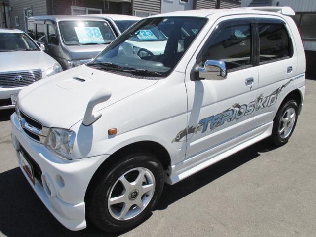 ダイハツ テリオスキッド カスタムX 4WD 5速マニュアル ICターボ 夏冬タイヤ付
