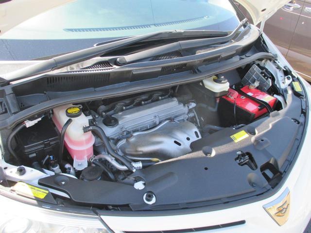 タイミングチェーン採用で10モード/10・15モードカタログ燃費11.4Km/L