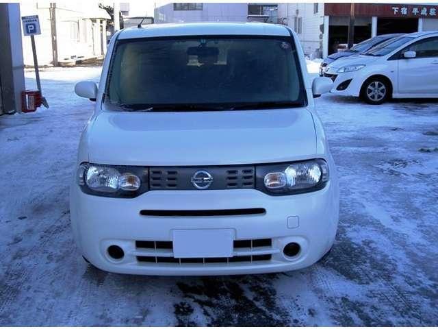 日産 キューブ 15X FOUR 4WD寒冷地仕様 ナビ スマートキー