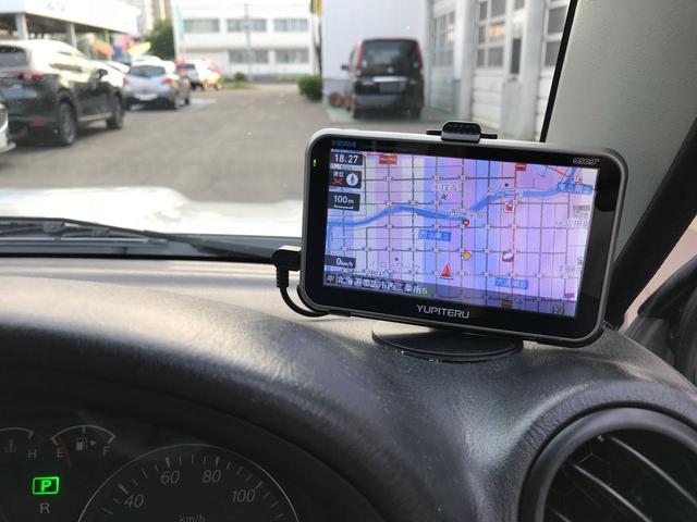スズキ ジムニー XG 4WD ポータブルナビ CD エアバッグ
