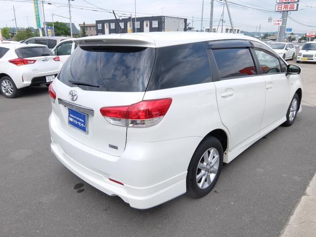 「トヨタ」「ウィッシュ」「ミニバン・ワンボックス」「北海道」の中古車3