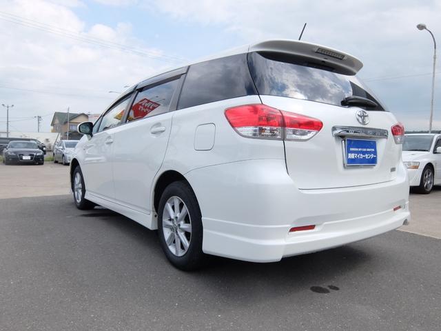 「トヨタ」「ウィッシュ」「ミニバン・ワンボックス」「北海道」の中古車4