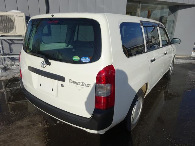 「トヨタ」「プロボックス」「ステーションワゴン」「北海道」の中古車6