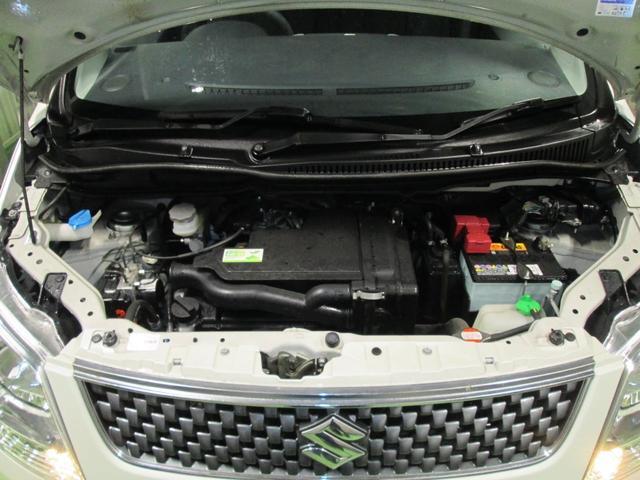 スズキ ワゴンR FXリミテッド 4WD ABS プッシュスタート 夏冬タイヤ