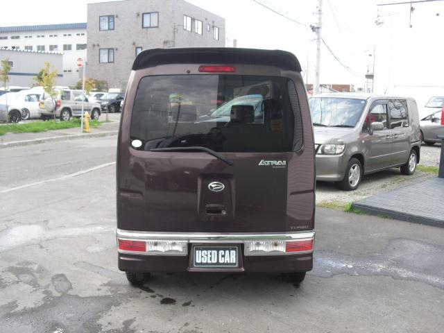 ダイハツ アトレーワゴン カスタムターボRS 4WD AT グー鑑定書付