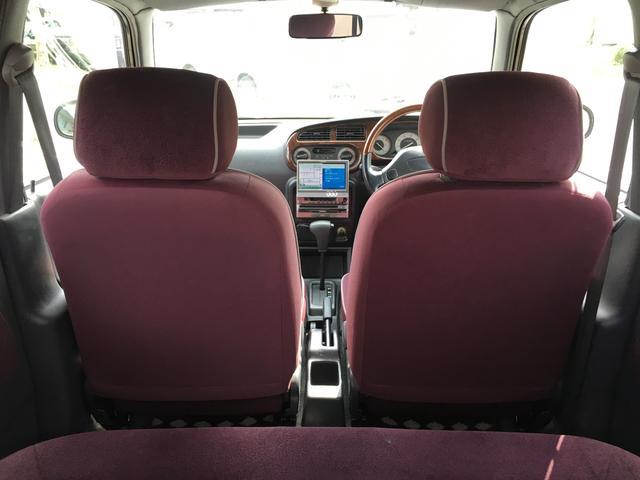 ジーノ 4WD アルミ 社外HDDナビ ウッドコンビH(15枚目)