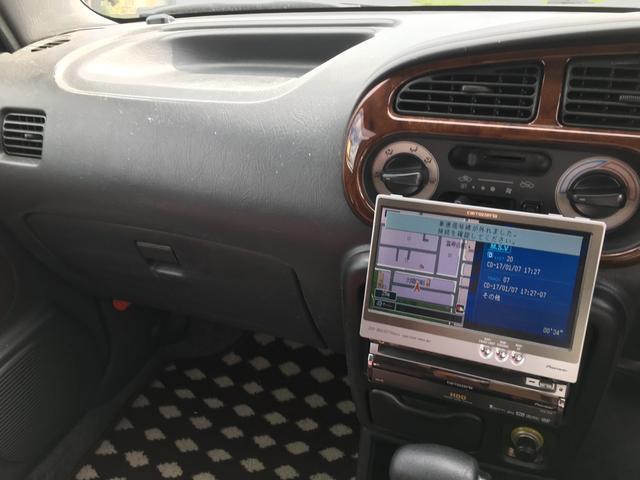 ジーノ 4WD アルミ 社外HDDナビ ウッドコンビH(18枚目)