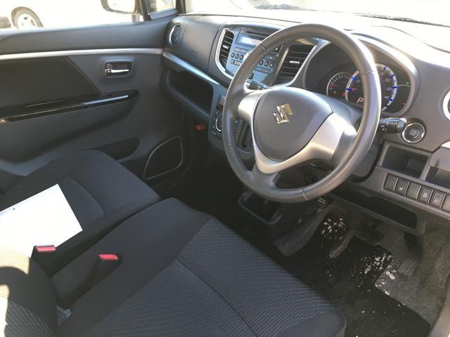 スズキ ワゴンRスティングレー X 4WD 純正エアロ キーフリー エネチャージ