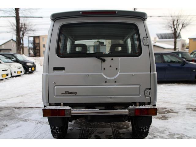 スズキ ジムニー ワイルドウインド 4WD 社外バンパー