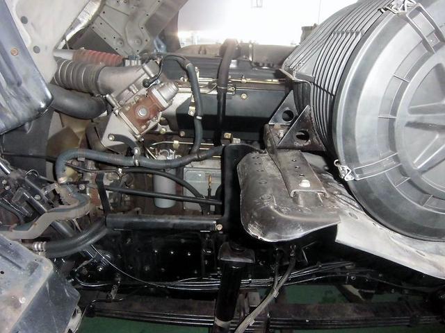 日産ディーゼル ビッグサム 平ボデー KL-CG48J アルミ5方開