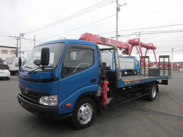 トヨタ ダイナトラック クレーン付セフティローダ BDG-XZU434 ユニック