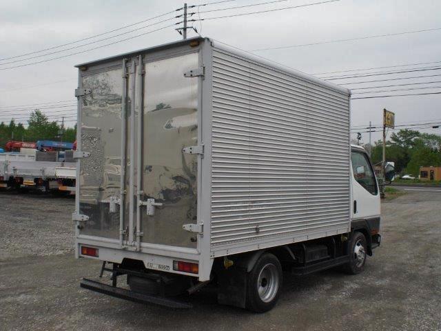 三菱ふそう キャンターガッツ ドライバン KK-FD50AB 4WD