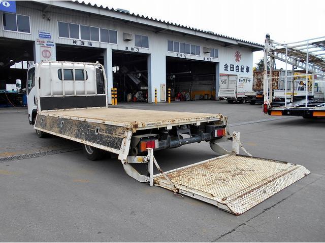 いすゞ エルフトラック 平ボディ TKG-NPR85AR 極東