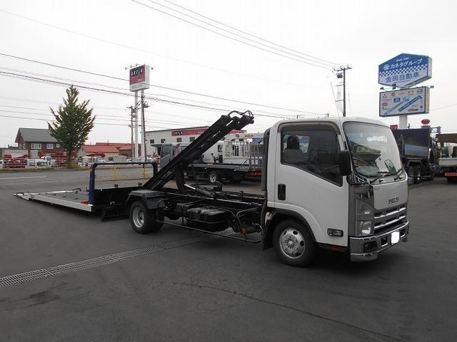 いすゞ エルフトラック セフティーローダー TKG-NPR85AN 極東