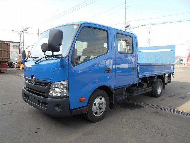トヨタ ダイナトラック Wキャブ TKG-XZU710 新明和