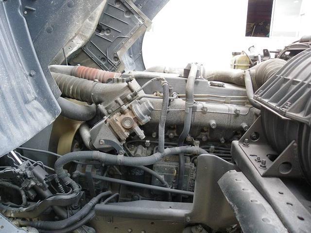 日産ディーゼル ビッグサム 平ボディ KL-CG48ZVX 木製5方開