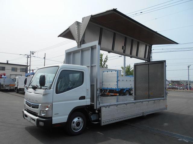 三菱ふそう キャンター ウイング TPG-FEB50 リヤ観音