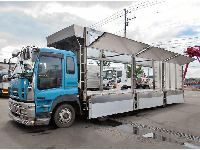 チップ運搬車 PDG-CYJ77W8 リヤエアサス(10枚目)