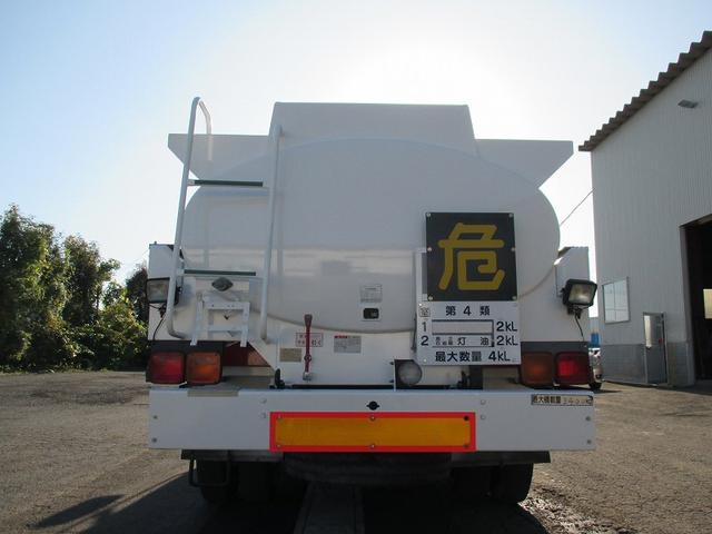 タンクローリー KC-MK211BN 新明和工業(6枚目)