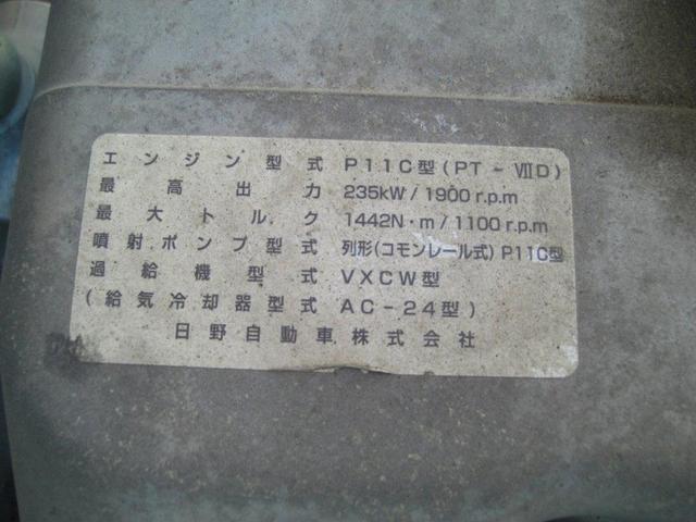 大型ダンプ 電動コボレーン ベッド付(16枚目)