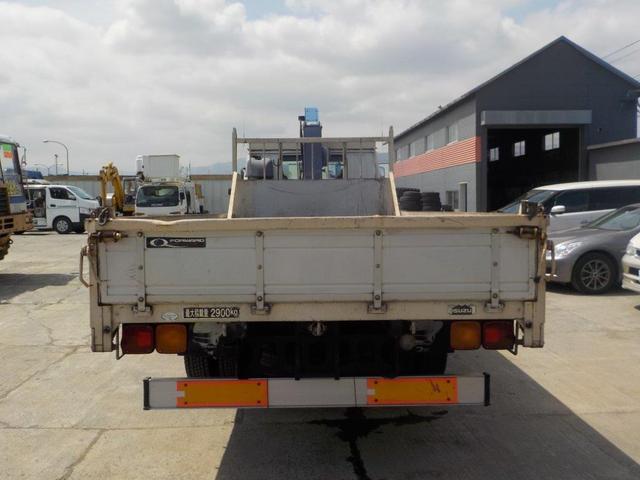4トン4段クレーン ラジコン ベッド付(5枚目)