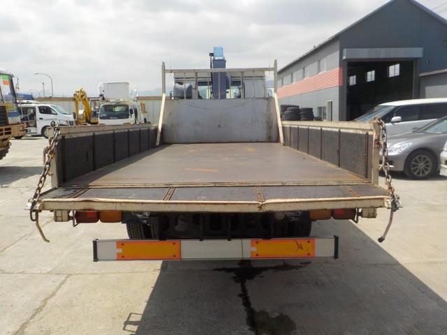 4トン4段クレーン ラジコン ベッド付(7枚目)