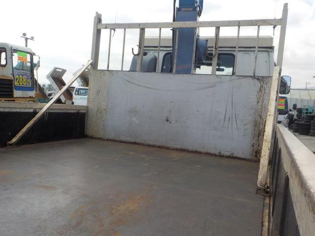 4トン4段クレーン ラジコン ベッド付(8枚目)