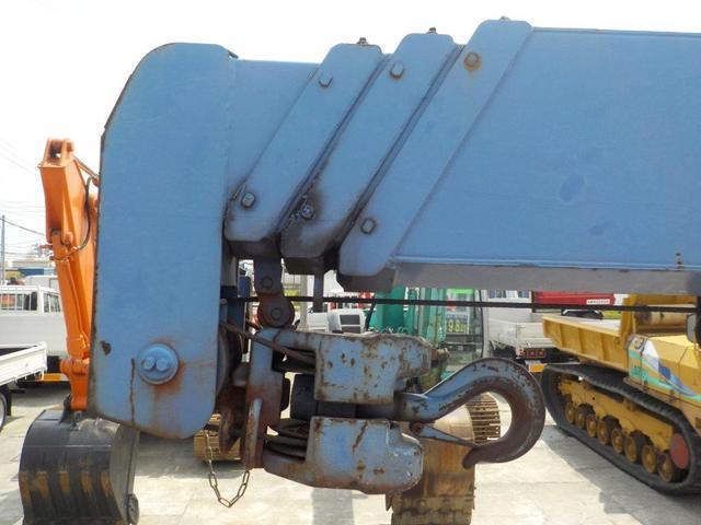 4トン4段クレーン ラジコン ベッド付(9枚目)