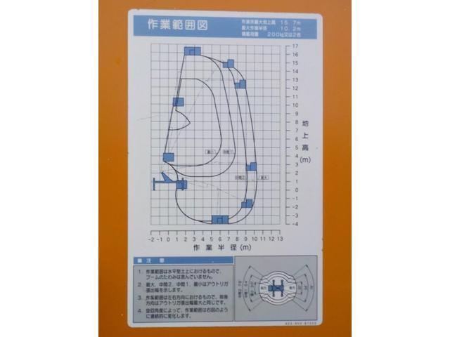 15.7m高所作業車 スチールバケット(17枚目)