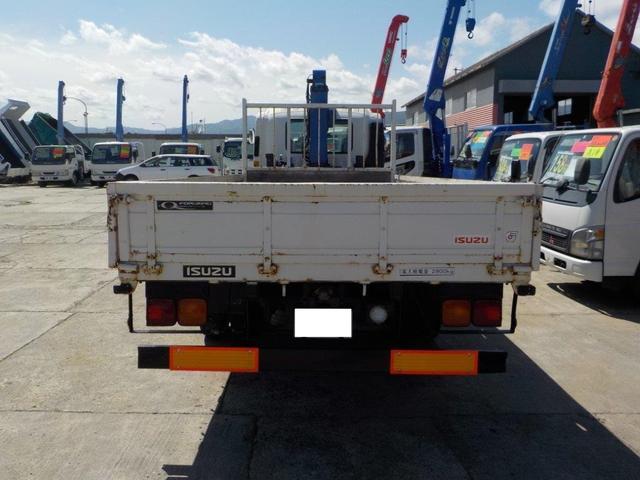4トン4段クレーン ロング MTモード付AT(7枚目)