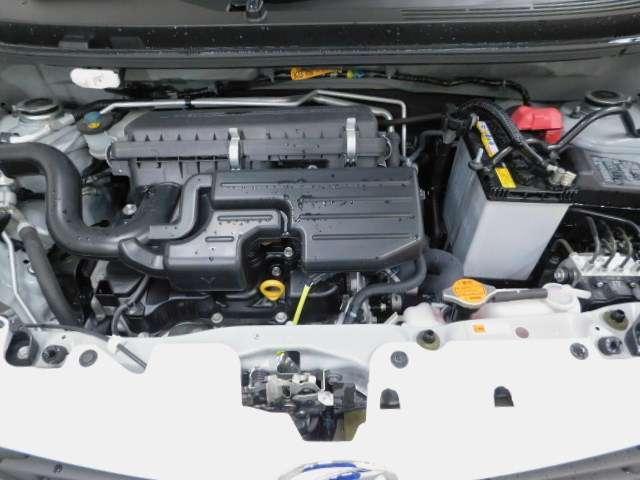 エンジンルームがきれいなのは、車の健康の証!エンジンルームがきれいだと不具合も発見しやすく、コンディションの維持にも◎