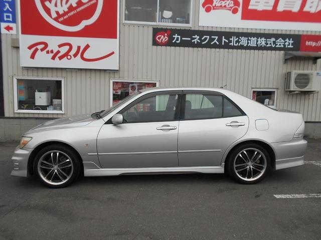 「トヨタ」「アルテッツァ」「セダン」「北海道」の中古車4