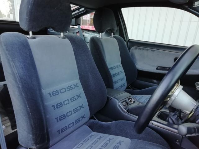 タイプS 車検整備付き 修復歴無 SR20ターボエンジン載せ替え S14タービン ニスモLSD ニスモ強化クラッチ 前置インタークーラー R33燃料ポンプ Defi4連メーター 16インチアルミホイール(14枚目)