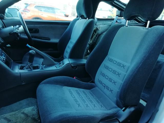 タイプS 車検整備付き 修復歴無 SR20ターボエンジン載せ替え S14タービン ニスモLSD ニスモ強化クラッチ 前置インタークーラー R33燃料ポンプ Defi4連メーター 16インチアルミホイール(16枚目)
