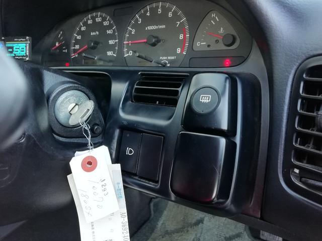 タイプS 車検整備付き 修復歴無 SR20ターボエンジン載せ替え S14タービン ニスモLSD ニスモ強化クラッチ 前置インタークーラー R33燃料ポンプ Defi4連メーター 16インチアルミホイール(22枚目)