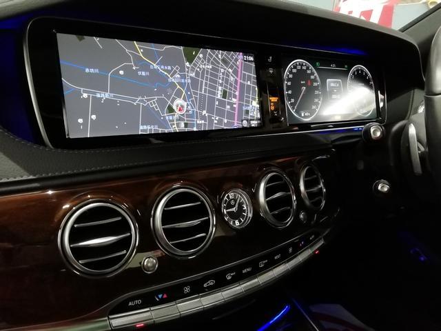 S400ハイブリッド エクスクルーシブ ワンオーナー パノラミックルーフ ブルメスターサラウンド 360℃カメラ シートマッサージ レーダーセーフティPKG 黒革シートヒーター・ベンチレーター ディストロニックプラス パワートランク(14枚目)