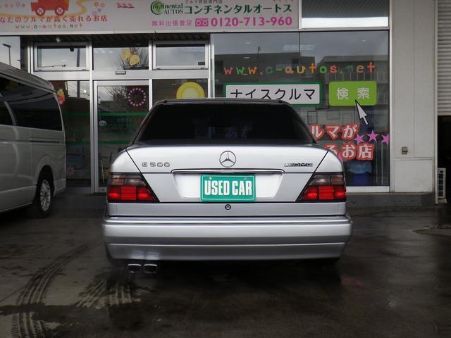E500 実走行 ディーラー記録簿 サンルーフ 左H(3枚目)