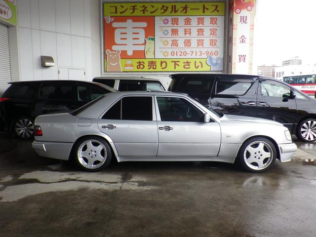 E500 実走行 ディーラー記録簿 サンルーフ 左H(4枚目)