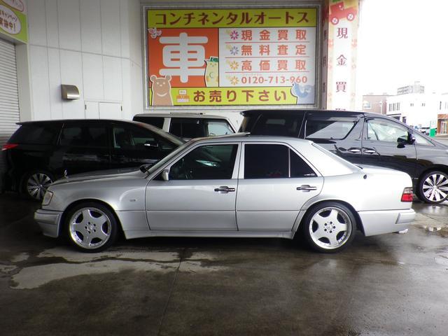 E500 実走行 ディーラー記録簿 サンルーフ 左H(5枚目)
