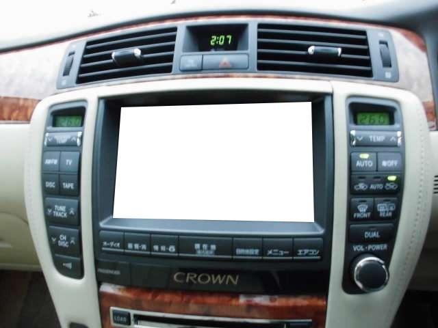 トヨタ クラウン ロイヤルサルーンG TV 革シート シートヒーター ETC