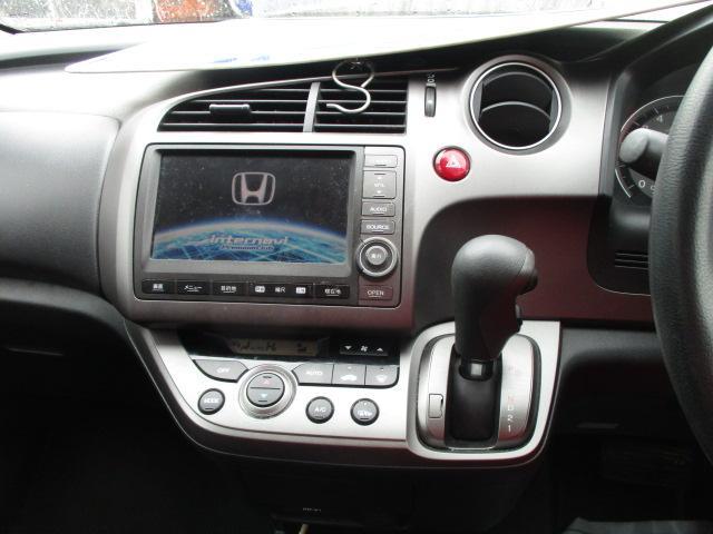 ホンダ ストリーム X 5AT 4WD キーレス ナビ Rカメラ HID