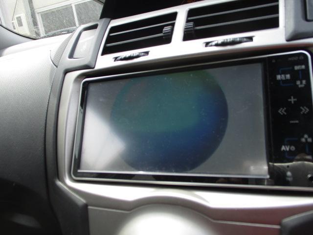 トヨタ ヴィッツ F 4WD ABS キーレス HDDナビ ワンセグTV