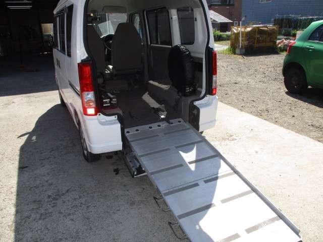 車いす移動車・4WD・ABS・修復無・1オーナー・5.8万k(12枚目)
