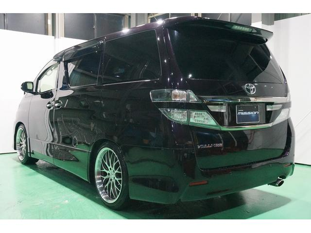 トヨタ ヴェルファイア 2.4Z 4WD アルパインBIGX パワースライドドア